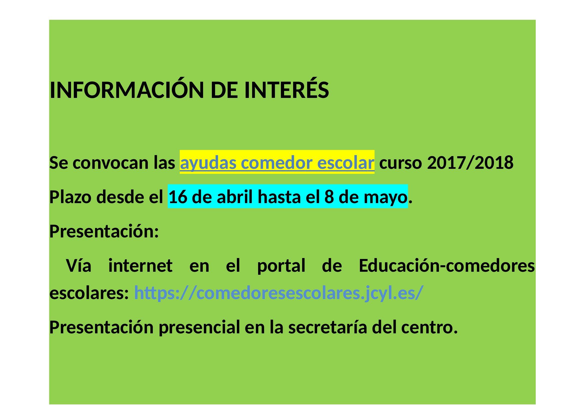Comedores Escolares Jcyl - Disenos De Casas - Volvo-4-364.orros.net